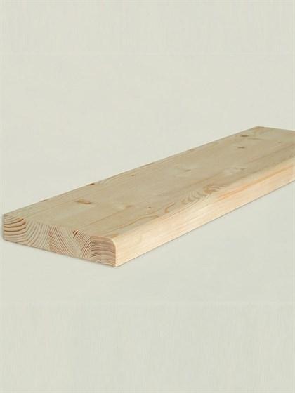 Ступени деревянные 1400x300x40 - фото 4823