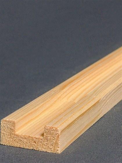 Планка соединительная под плоские балясины 3000 мм - фото 5678