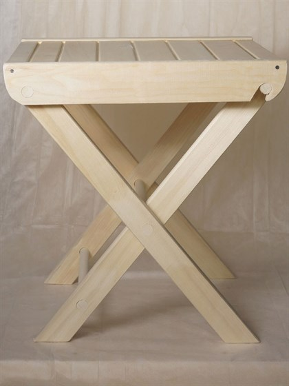 Стол раскладной 50x60 осина - фото 6723
