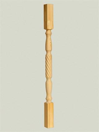 Балясина из дерева Витая - 60x60 Сорт A
