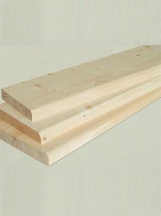 Ступень деревянная 2000x250x40